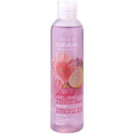 Avon Naturals Body Duschgel mit Zitrone und Gänseblümchen  200 ml