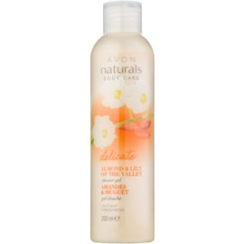 Avon Naturals Body Gentle Body Wash with Almond and Lily of the Valley  200 ml
