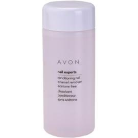 Avon Nail Experts removedor de verniz e de cuidado sem acetona   150 ml