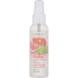 Avon Naturals Fragrance test spray grapefruittal és mentával  150 ml