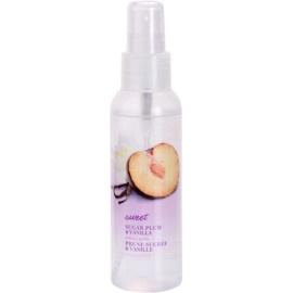 Avon Naturals Fragrance tělový sprej se švestkou a vanilkou  100 ml