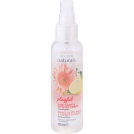 Avon Naturals Fragrance telový sprej so sedmokráskou a citrónom  100 ml