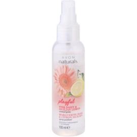 Avon Naturals Fragrance Körperspray mit Zitrone und Gänseblümchen  100 ml