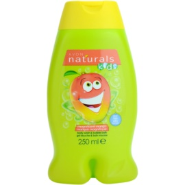 Avon Naturals Kids pena za kopel in gel za prhanje 2v1 za otroke  250 ml