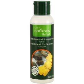 Avon Naturals Herbal освіжаючий тонік для обличчя  100 мл