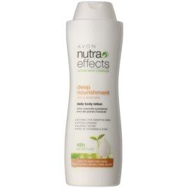 Avon Nutra Effects Nourish hidratáló testápoló tej Száraz, nagyon száraz bőrre  400 ml