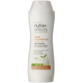 Avon Nutra Effects Nourish hydratačné telové mlieko pre suchú až veľmi suchú pokožku  250 ml