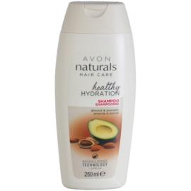 Avon Naturals Hair Care regenerační šampon pro suché a poškozené vlasy  250 ml