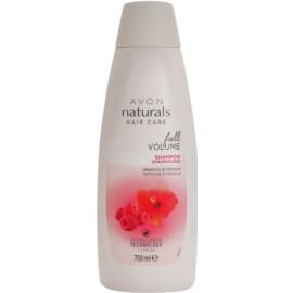 Avon Naturals Hair Care champô para cabelo fino e sem volume  700 ml