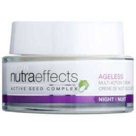 Avon Nutra Effects Ageless crema notte rigenerante  50 ml