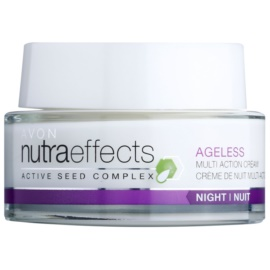 Avon Nutra Effects Ageless Crema de noapte cu efect de reintinerire  50 ml