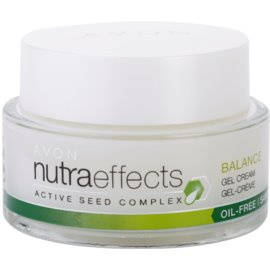 Avon Nutra Effects Balance matujúci gélový krém s nemastným zložením  50 ml