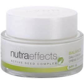 Avon Nutra Effects Balance mattierende Tagescreme LSF 15  50 ml
