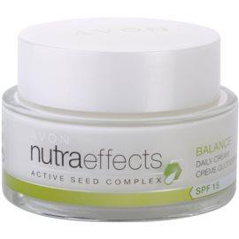 Avon Nutra Effects Balance matujący krem na dzień SPF 15  50 ml