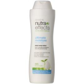 Avon Nutra Effects hydratačné telové mlieko pre normálnu a suchú pokožku  400 ml