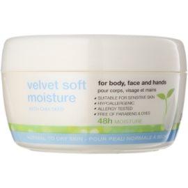 Avon Nutra Effects crema hidratante suavizante día y noche para rostro y cuerpo  200 ml