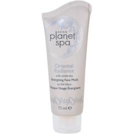 Avon Planet Spa Oriental Radiance élénkítő lehúzható arcmaszk fehér teával  75 ml