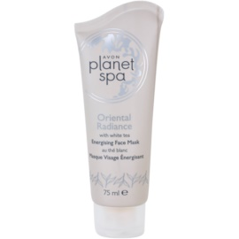 Avon Planet Spa Oriental Radiance máscara facial energizante peel-off com chá branco  75 ml