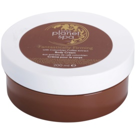 Avon Planet Spa Fantastically Firming Firming Body Cream With Extracts Of Coffee  200 ml