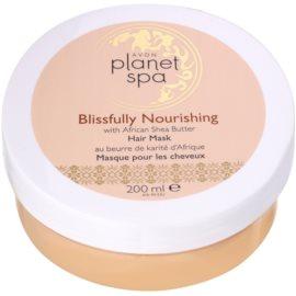 Avon Planet Spa African Shea Butter mascarilla para todo tipo de cabello  200 ml