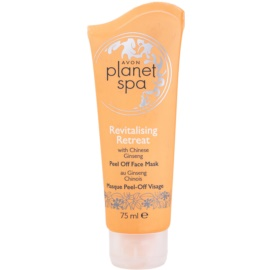 Avon Planet Spa Chinese Ginseng masque peel-off revitalisant visage aux extraits de ginseng  75 ml