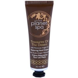 Avon Planet Spa Treasures Of The Desert Handcreme mit Arganöl  30 ml