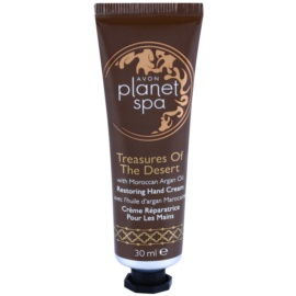 Avon Planet Spa Treasures Of The Desert krém na ruky s arganovým olejom  30 ml
