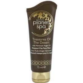 Avon Planet Spa Treasures Of The Desert maschera ricostruttore per rendere la pelle più bella  75 ml