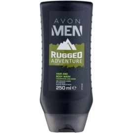 Avon Men Rugged Adventure tusfürdő férfiaknak 250 ml