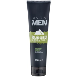 Avon Men Rugged Adventure Rasiergel für Herren 100 ml