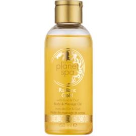 Avon Planet Spa Radiant Gold huile brillante illuminatrice massage et corps  150 ml