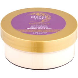 Avon Planet Spa Radiant Gold крем для тіла для освітлення та зволоження  200 мл
