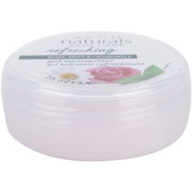 Avon Naturals Refreshing hydratační gel s růží, mátou a heřmánkem  75 ml
