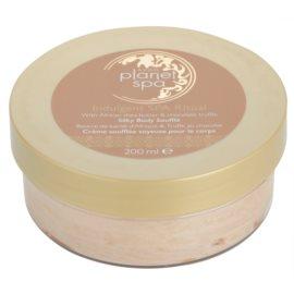 Avon Planet Spa Indulgent SPA Ritual легкий крем для тіла з маслом ши та шоколадом  200 мл