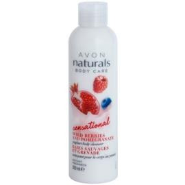 Avon Naturals Body Care Sensational Молочко для душу з йогуртом  200 мл