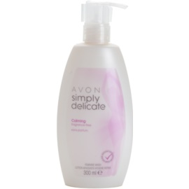 Avon Simply Delicate Calming Fragrance Free Cream Gel For Intimate Hygiene  300 ml