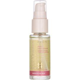 Avon Advance Techniques Smooth As Silk sérum pour des cheveux soyeux  30 ml