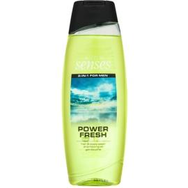 Avon Senses Power Fresh Duschgel & Shampoo 2 in 1  500 ml