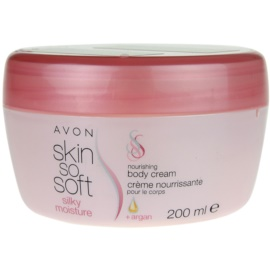 Avon Skin So Soft Silky Moisture крем для тіла  200 мл