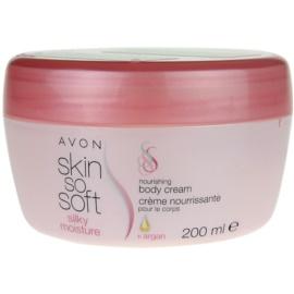 Avon Skin So Soft Silky Moisture Körpercreme  200 ml