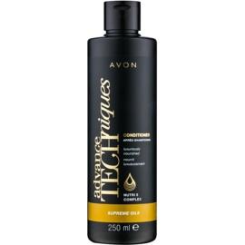 Avon Advance Techniques Supreme Oils intenzivní vyživující kondicionér s luxusními oleji pro všechny typy vlasů  250 ml