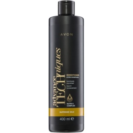 Avon Advance Techniques Supreme Oils intenzivní vyživující kondicionér s luxusními oleji pro všechny typy vlasů  400 ml