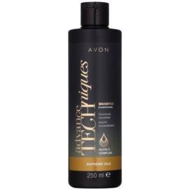Avon Advance Techniques Supreme Oils intensives, nährendes Shampoo mit luxuriösem Öl für alle Haartypen  251 ml
