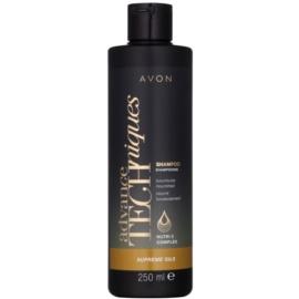 Avon Advance Techniques Supreme Oils intenzivní vyživující šampon s luxusními oleji pro všechny typy vlasů  251 ml