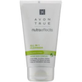Avon True NutraEffects tisztító gél az arcbőrre  150 ml