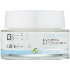 Avon True Nutra Effects hidratáló nappali krém SPF 15  50 ml