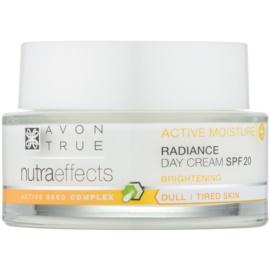 Avon True Nutra Effects élénkítő nappali krém SPF 20  50 ml