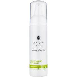 Avon True NutraEffects tisztító hab kombinált és zsíros bőrre  150 ml