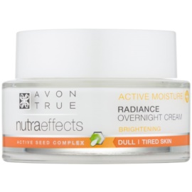 Avon True NutraEffects crème de nuit illuminatrice  50 ml
