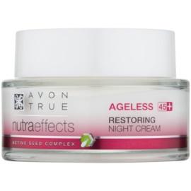 Avon True Nutra Effects fiatalító hatású éjszakai krém  50 ml